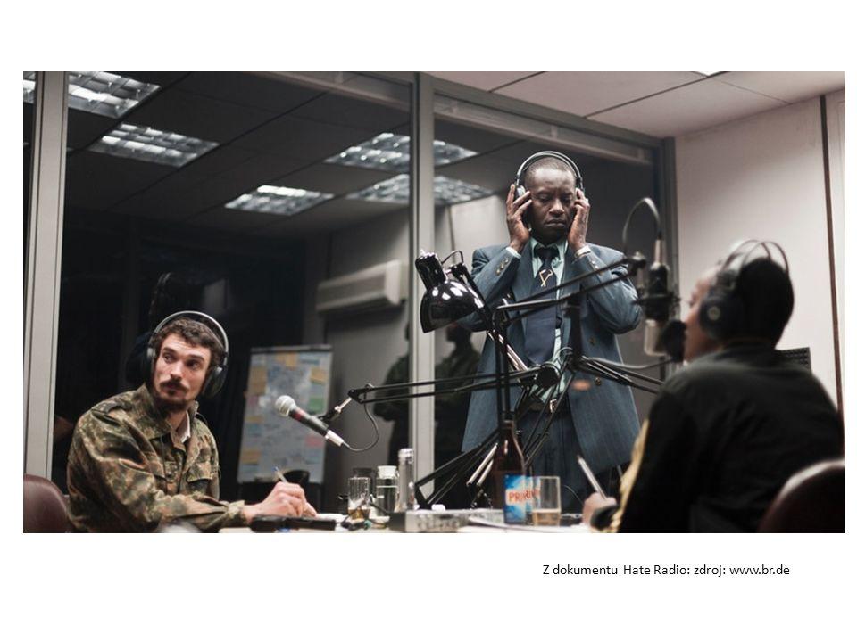 Z dokumentu Hate Radio: zdroj: www.br.de