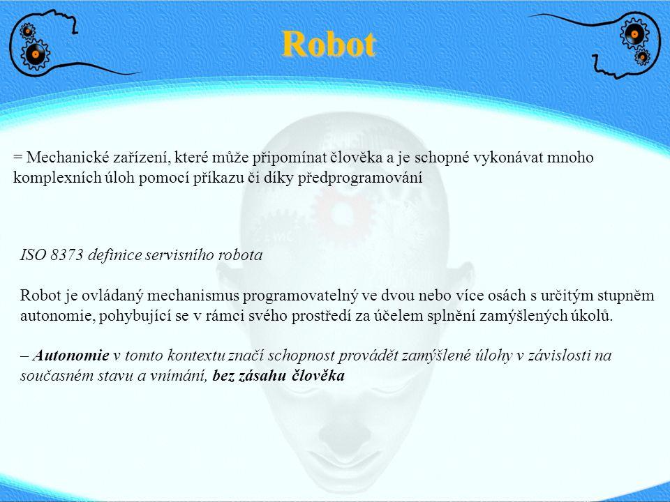 Robot Dodat přednášku z IRRS o jazyce - model Takáče z KUZu