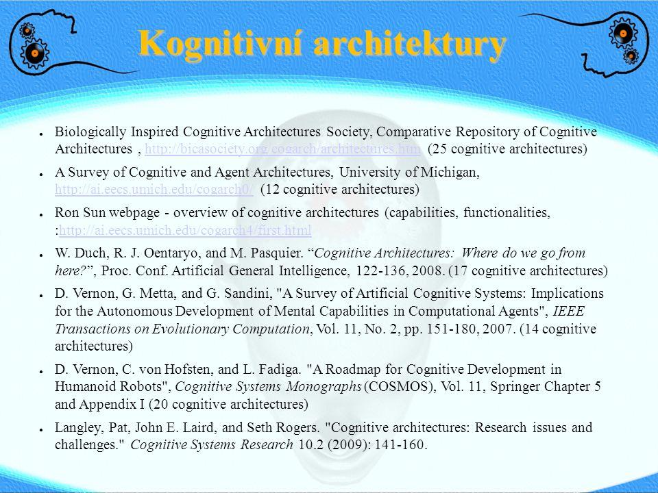 Kognitivní architektury