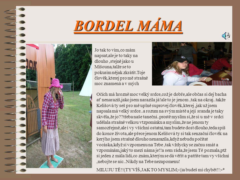 BORDEL MÁMA