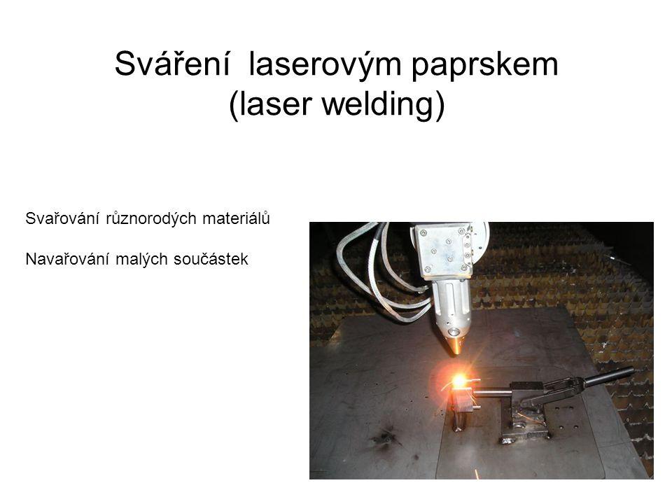 Sváření laserovým paprskem (laser welding)