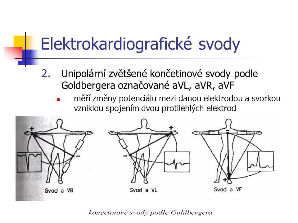 Elektrokardiografické svody