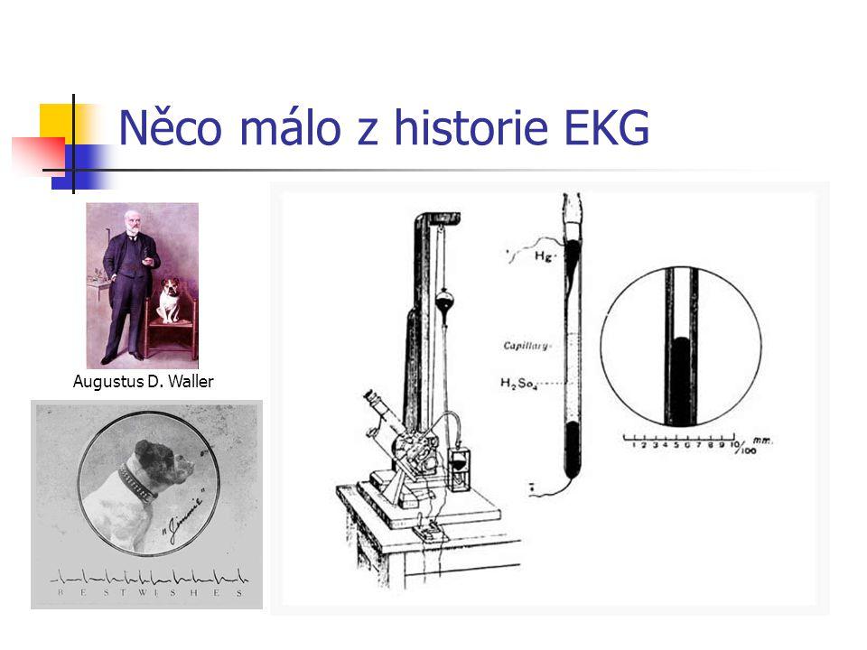 Něco málo z historie EKG