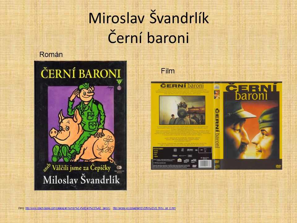 Miroslav Švandrlík Černí baroni