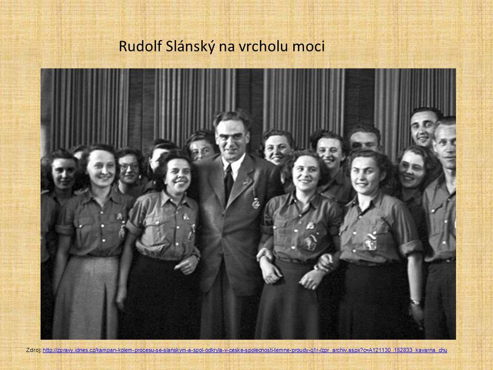 Rudolf Slánský na vrcholu moci