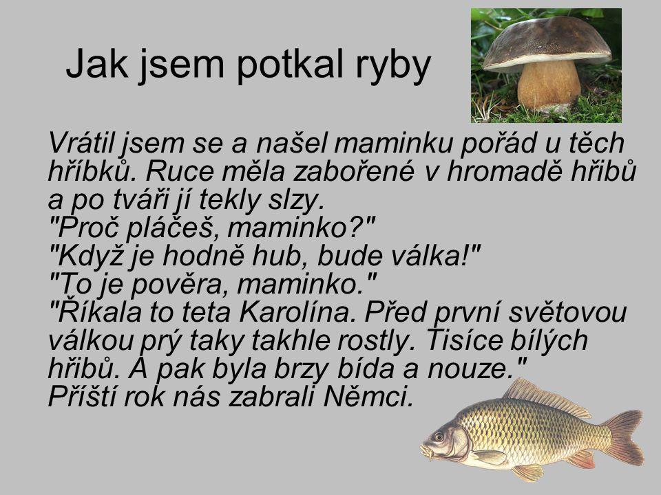 Jak jsem potkal ryby