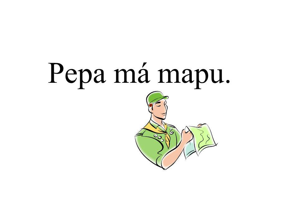 Pepa má mapu.