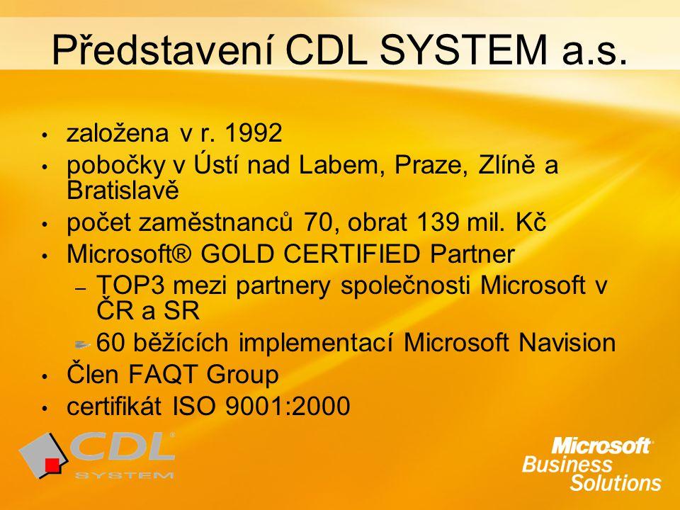 Představení CDL SYSTEM a.s.