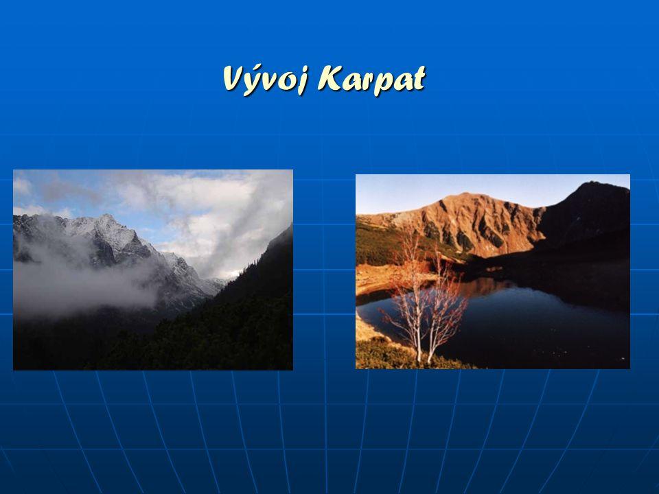 Vývoj Karpat
