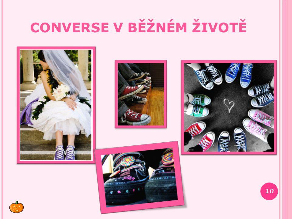 Converse v běžném životě