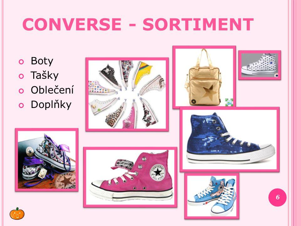 Converse - Sortiment Boty Tašky Oblečení Doplňky