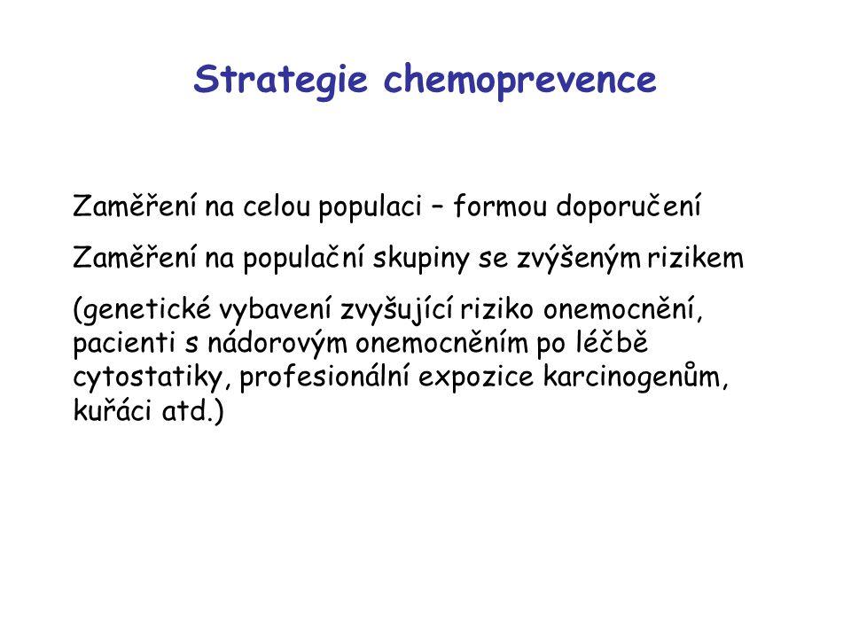 Strategie chemoprevence