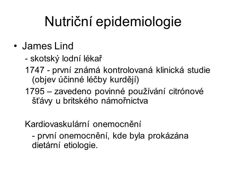 Nutriční epidemiologie