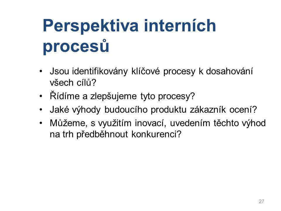 Perspektiva interních procesů