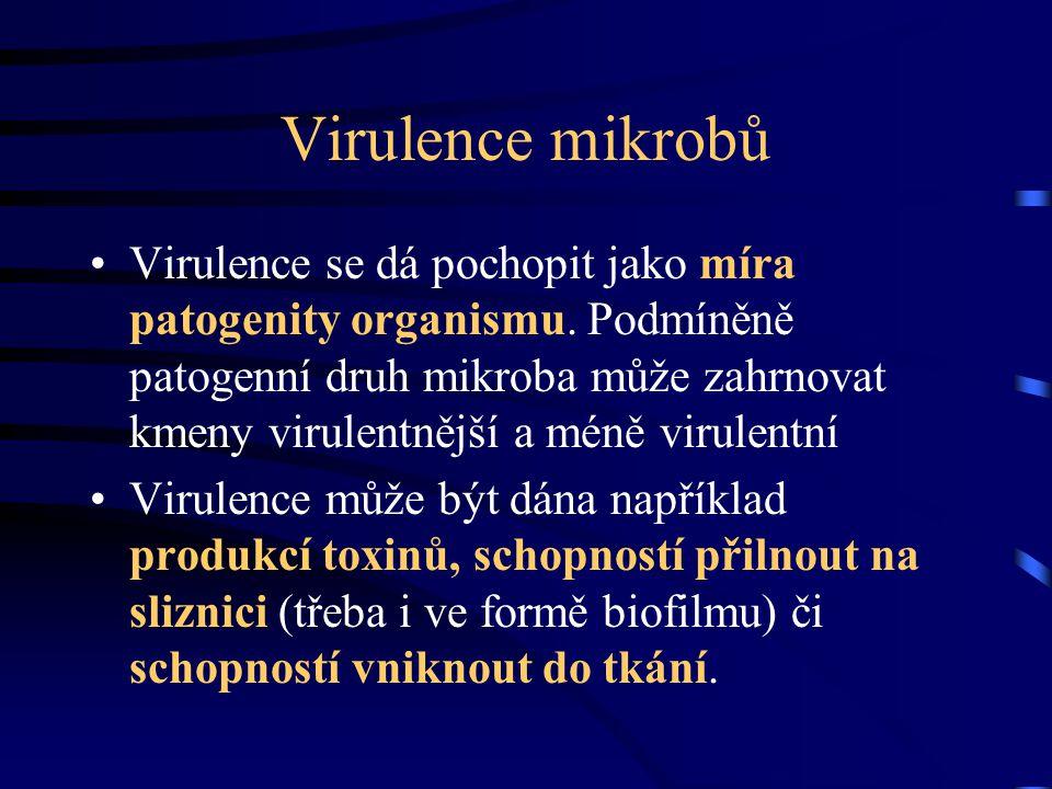 Virulence mikrobů