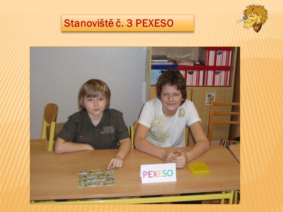 Stanoviště č. 3 PEXESO