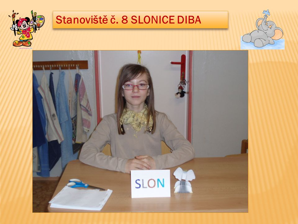 Stanoviště č. 8 SLONICE DIBA