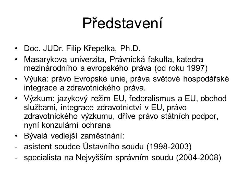 Představení Doc. JUDr. Filip Křepelka, Ph.D.