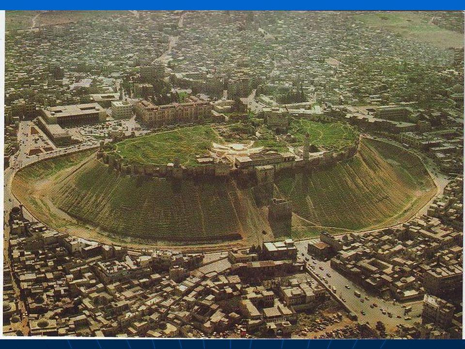 Aleppo (arabs. Haleb). Téměř 2. milionové město na s. Sýrie