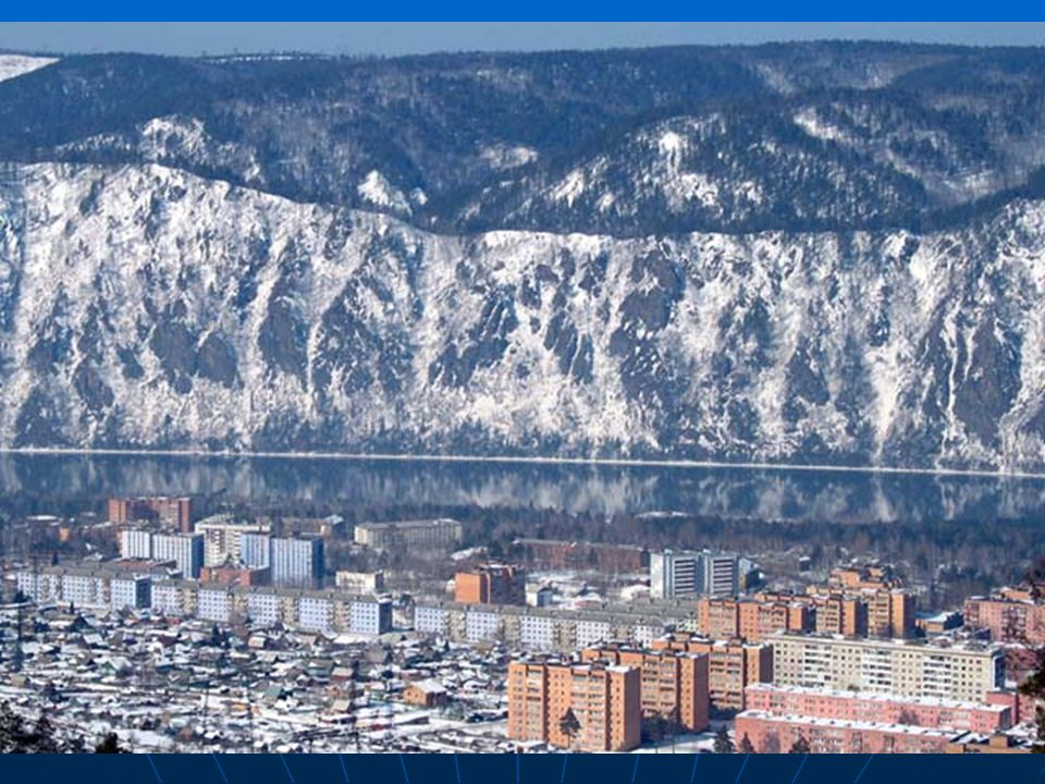Osídlování Sibiře. Nové město Divnogorsk s 40 tis