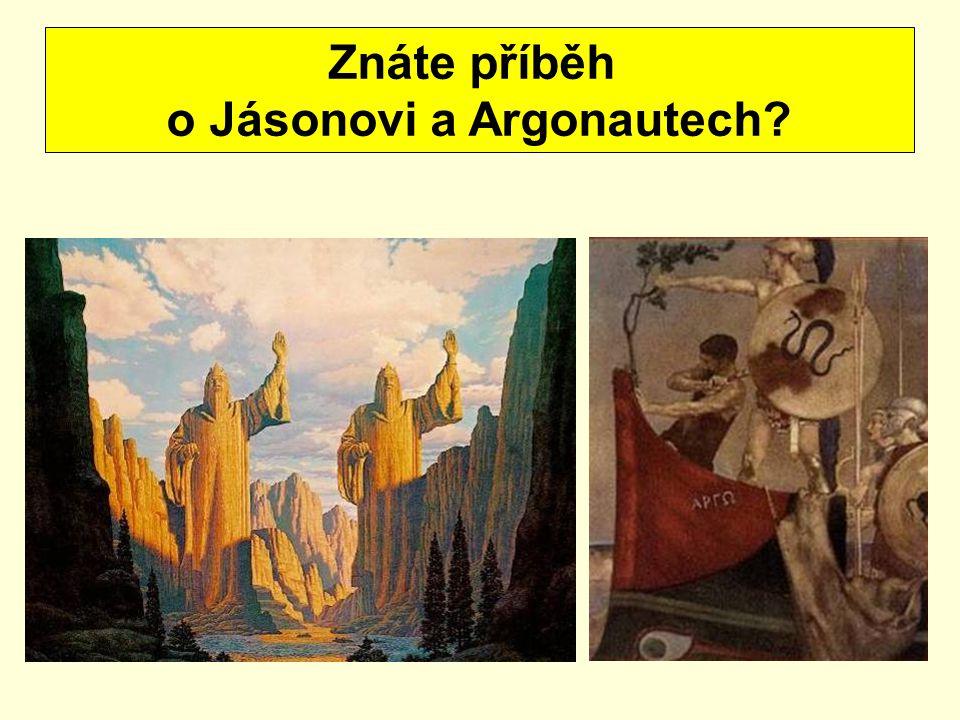 o Jásonovi a Argonautech