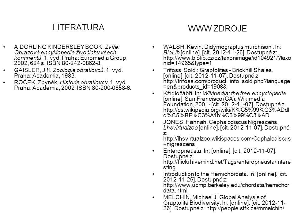 LITERATURA WWW ZDROJE.