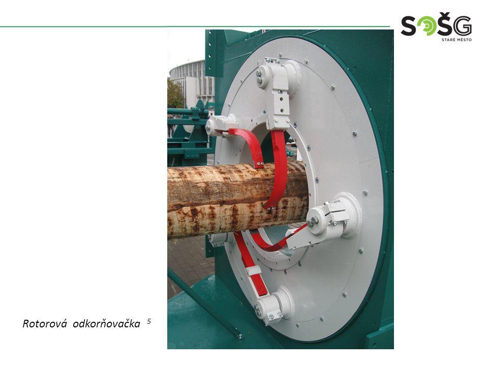 Rotorová odkorňovačka 5
