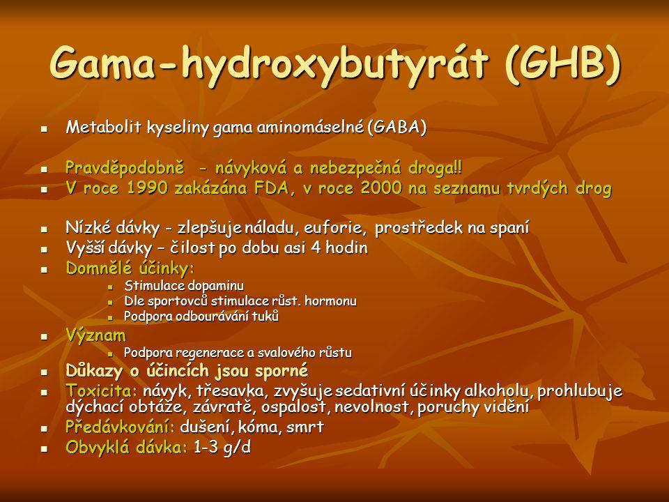Gama-hydroxybutyrát (GHB)