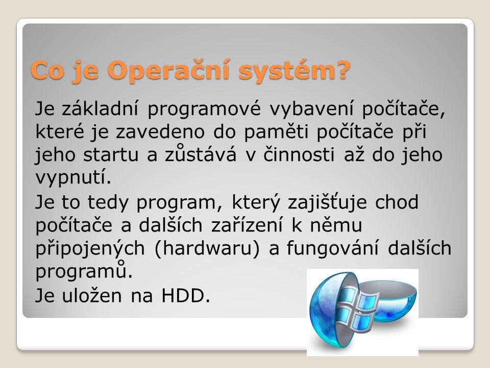 Co je Operační systém