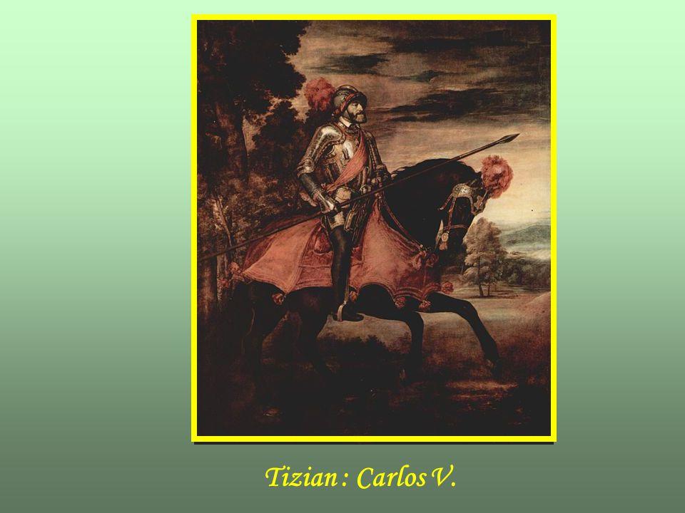 Tizian : Carlos V.