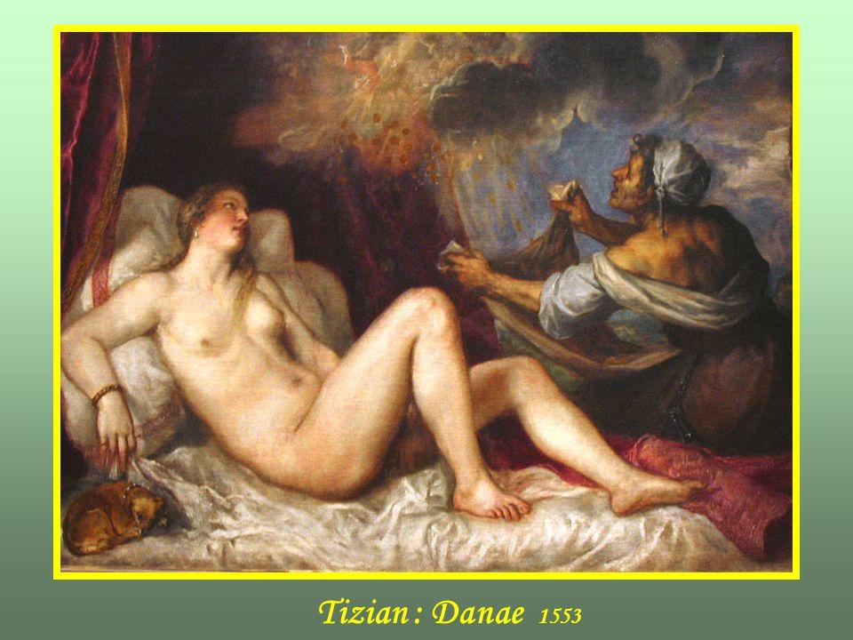 Tizian : Danae 1553