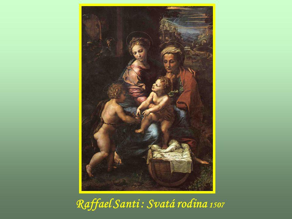 Raffael Santi : Svatá rodina 1507