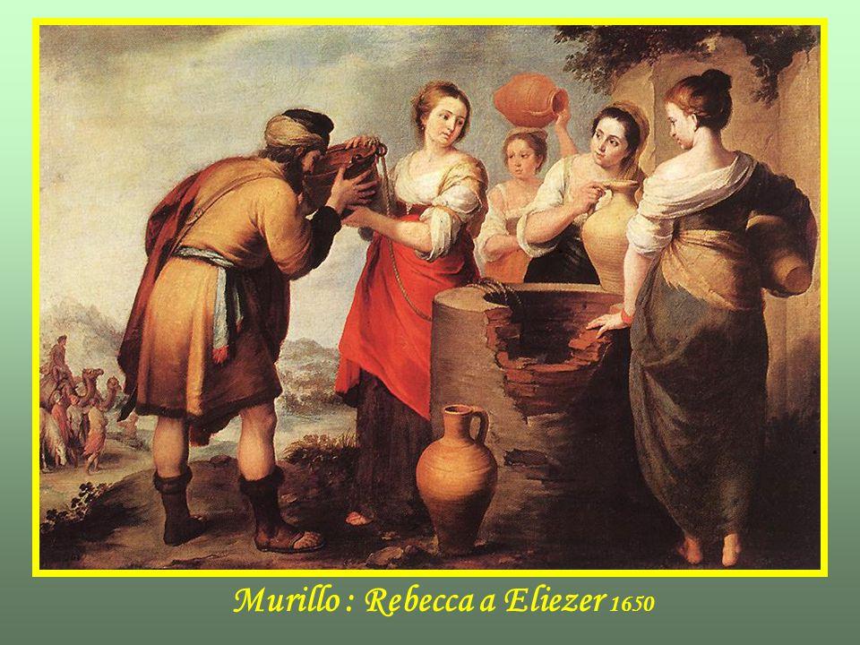 Murillo : Rebecca a Eliezer 1650