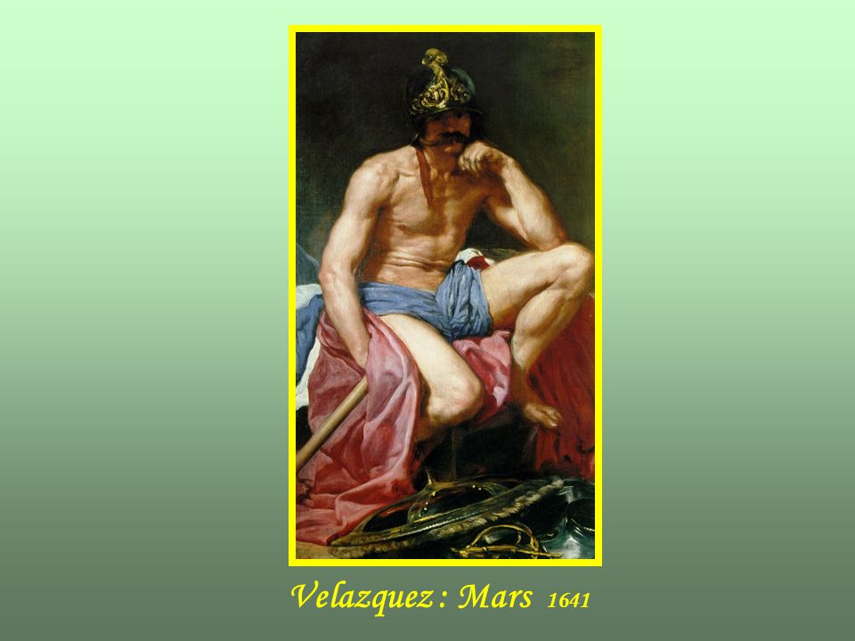 Velazquez : Mars 1641