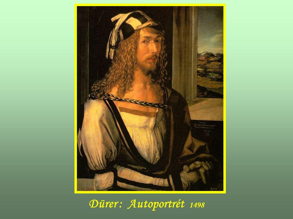 Dürer : Autoportrét 1498