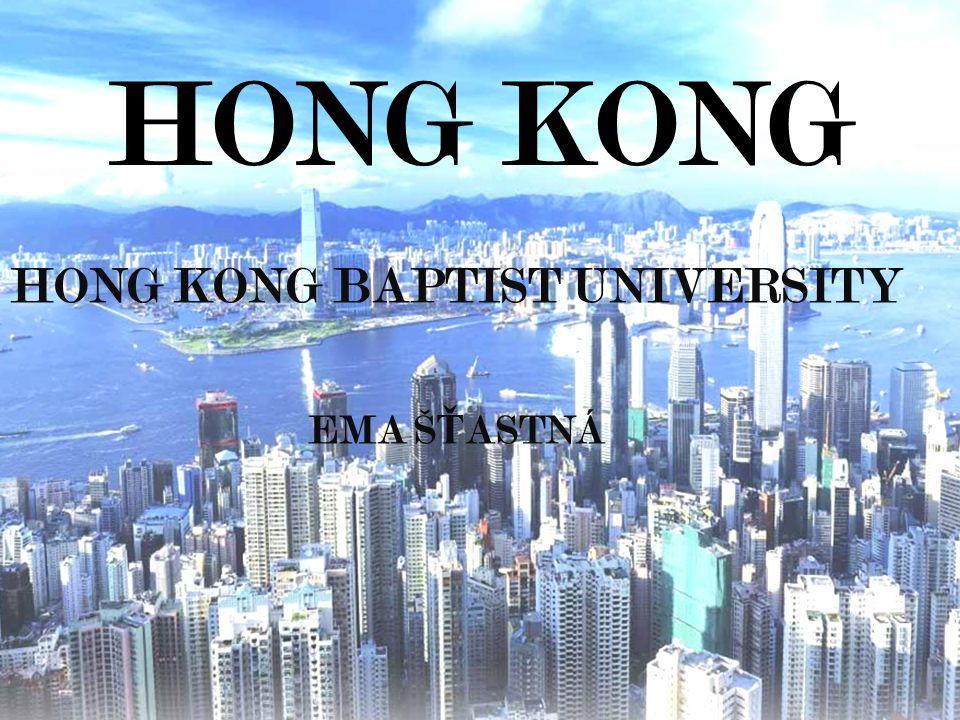 HONG KONG BAPTIST UNIVERSITY EMA ŠŤASTNÁ