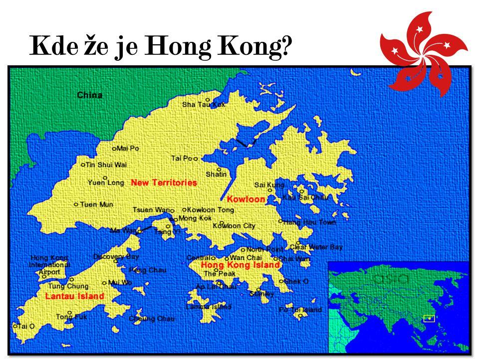 Kde že je Hong Kong