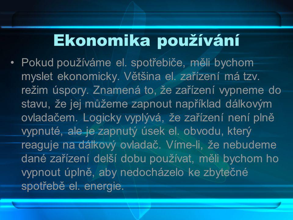 Ekonomika používání