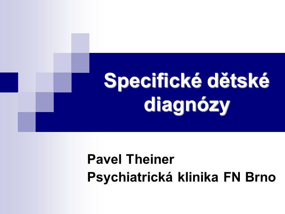 Specifické dětské diagnózy