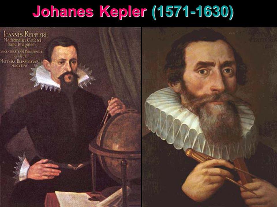 Johanes Kepler (1571-1630)