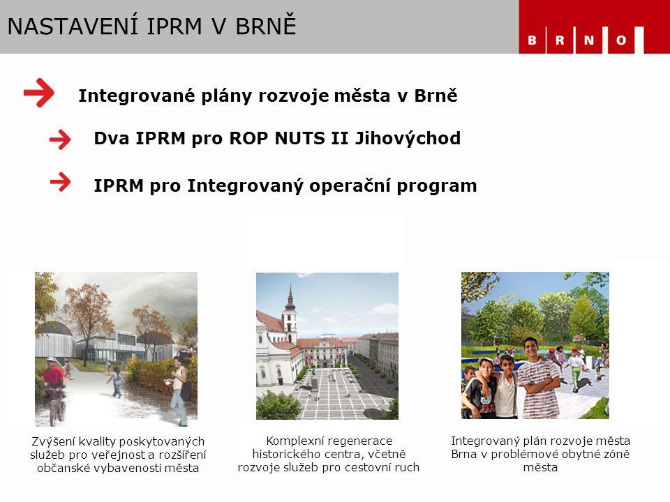 Integrovaný plán rozvoje města Brna v problémové obytné zóně města