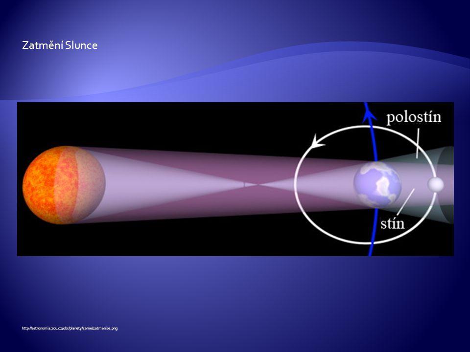 Zatmění Slunce http://astronomia.zcu.cz/obr/planety/zeme/zatmeni01.png