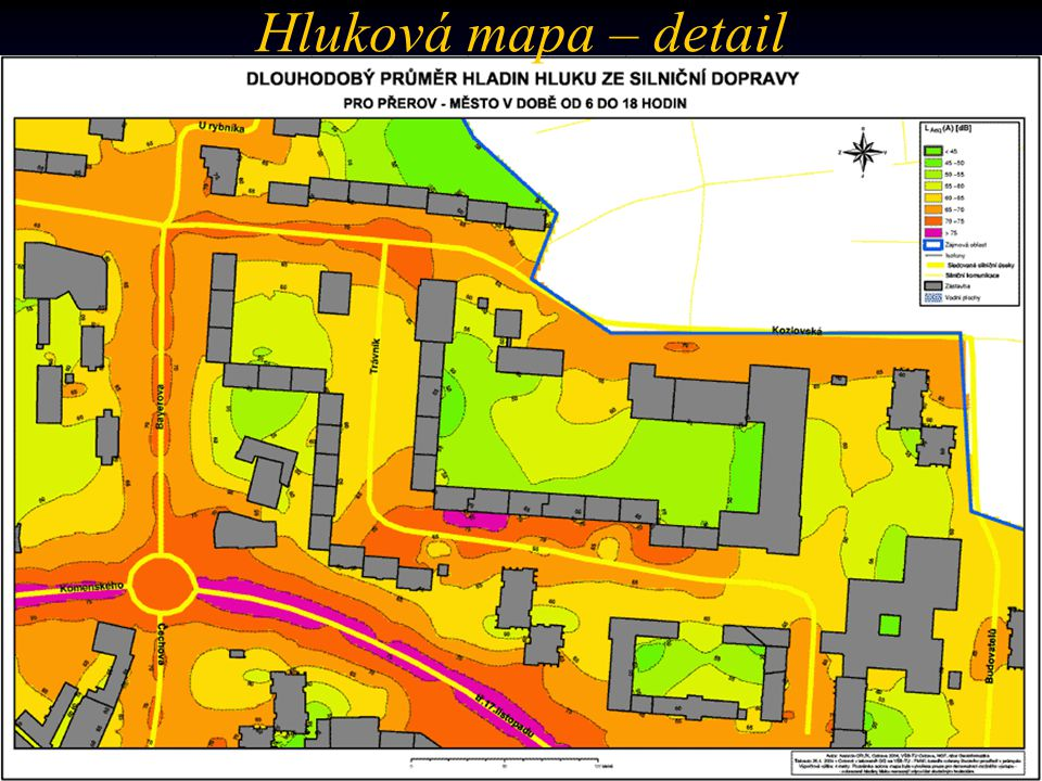 Hluková mapa – detail (…coming soon)