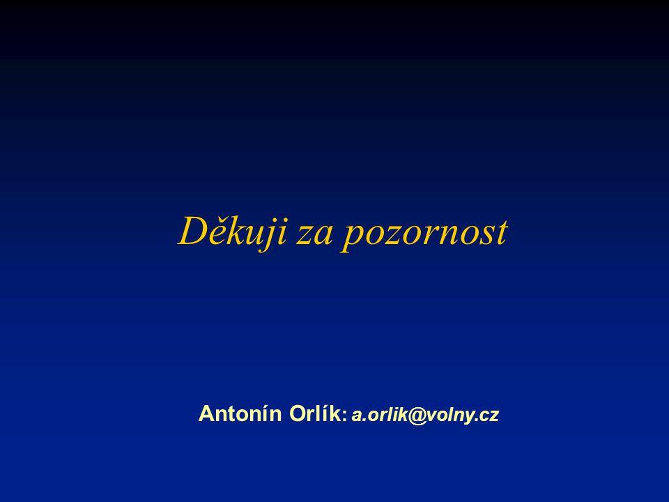 Antonín Orlík: a.orlik@volny.cz