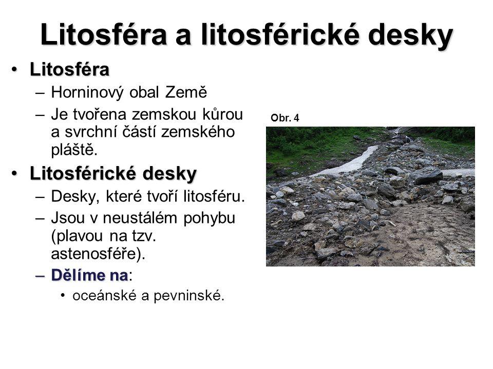 Litosféra a litosférické desky