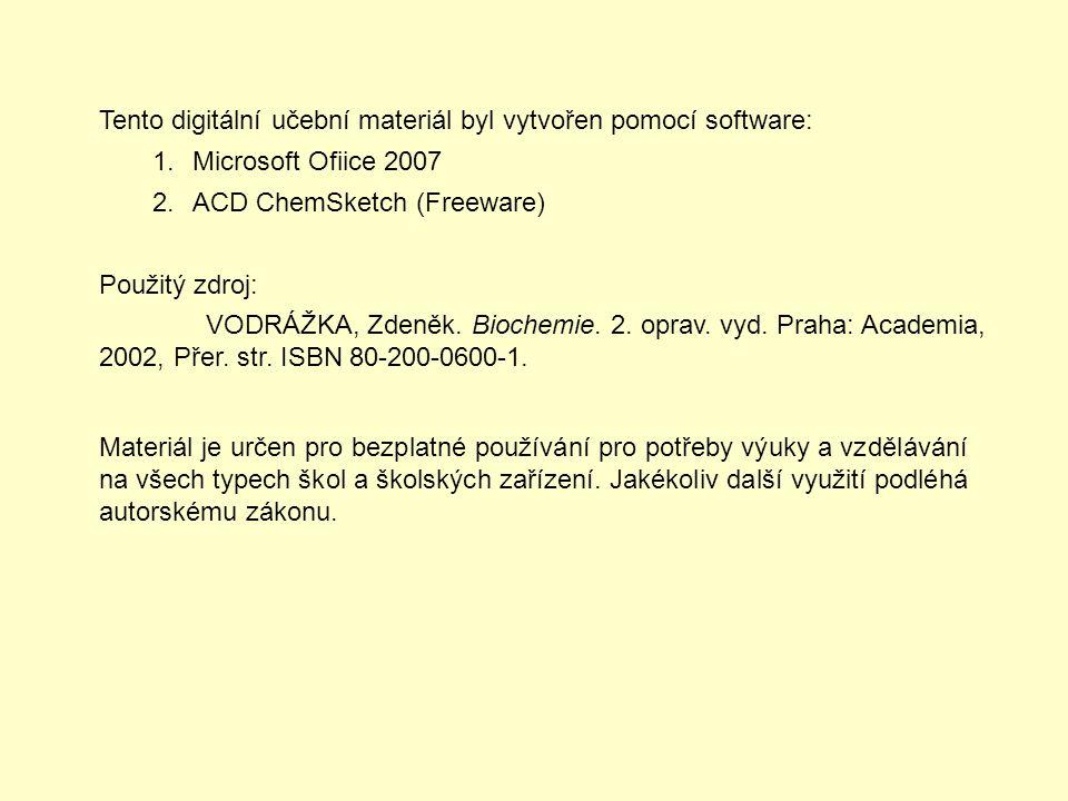 Tento digitální učební materiál byl vytvořen pomocí software: