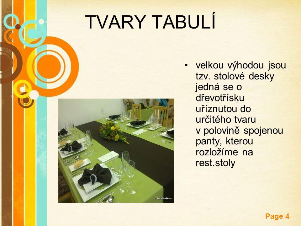 TVARY TABULÍ