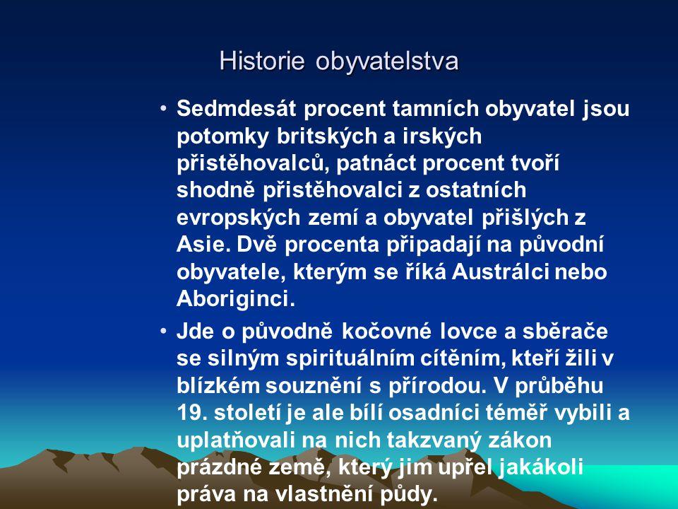 Historie obyvatelstva