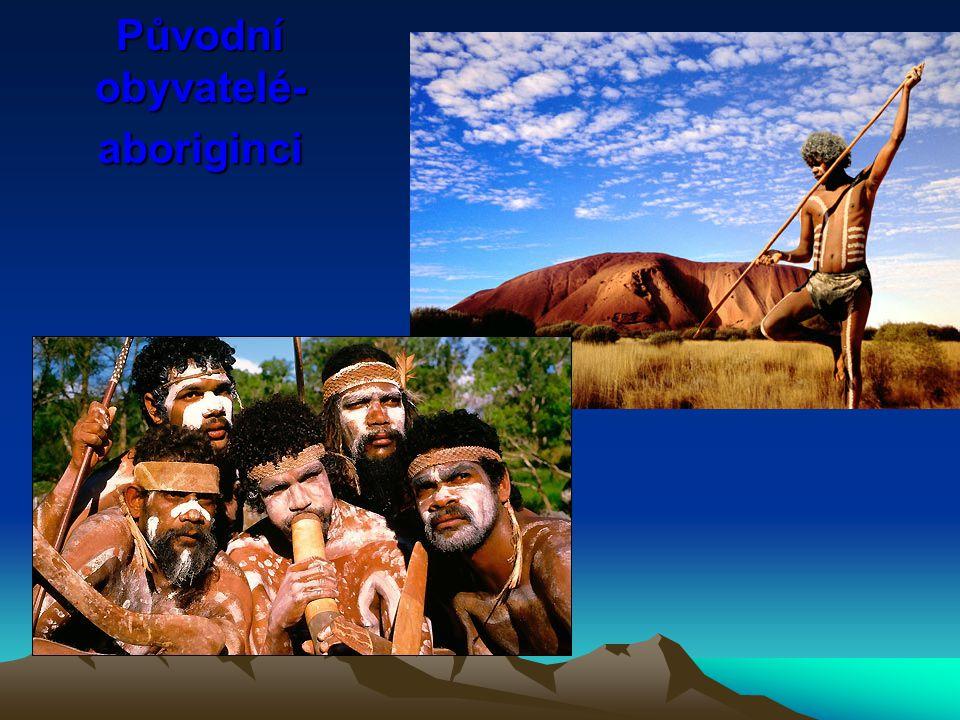 Původní obyvatelé-aboriginci