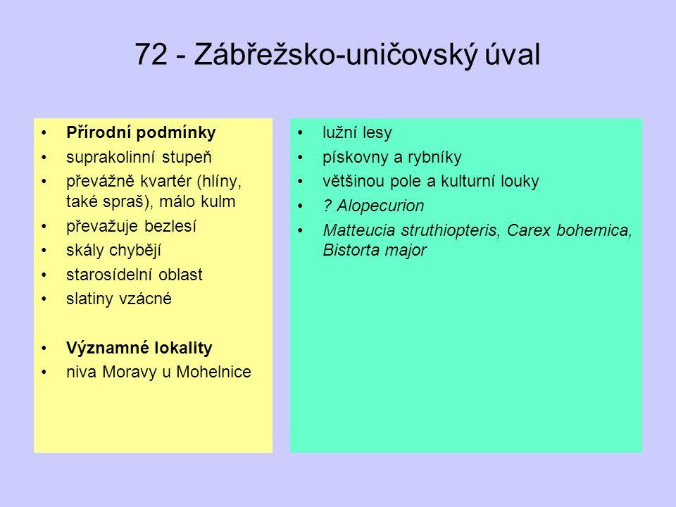 72 - Zábřežsko-uničovský úval